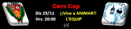 CE Vendrell - US Coutras - Cers Cup